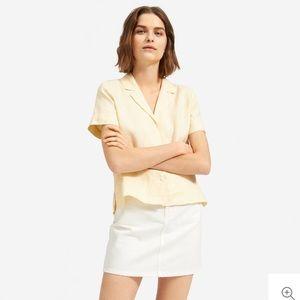 Everlane Linen Notch Shirt